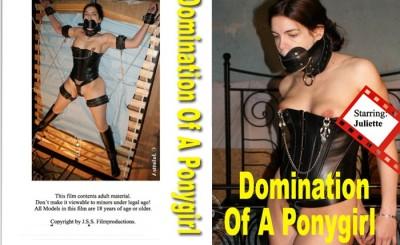 Bound ponygirl