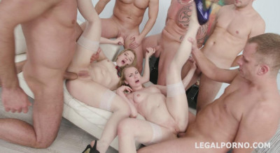 6on2 Gangbang Festival With Madison Lush & Anna Rey
