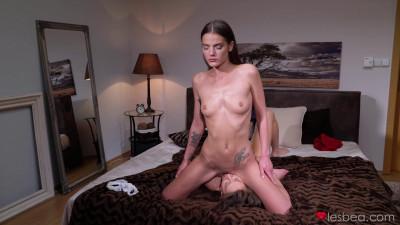 Slim Sensual Pussy Licking Brunette – FullHD 1080p
