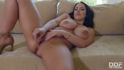 Angela White Toy Time For Busty Brunette
