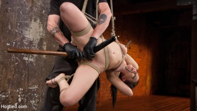 Petite Bondage Slut Gets Her Holes Destroyed In Grueling Bondage