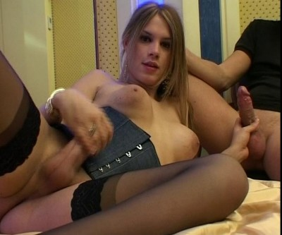 Anal fucking for the tranny