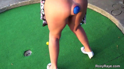 Roxy Raye-Being Slutty At The Fun Center
