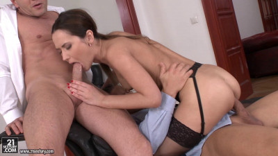 Angie Moon Sexy Assistant Gets