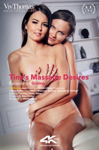 Tina Kay, Cindy Shine - Tina's Massage Desires Part 2 Giving 1080p