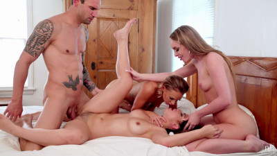 Deep Orgy With Alina Lopez & Daisy Stone & Emma Hix