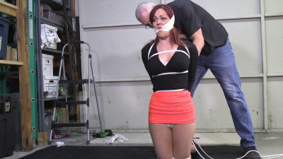 Sarah Brooke-Girl Friend tied up and tucked away