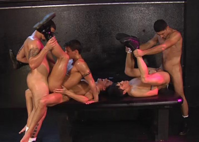 Exclusive Gangbang Party At Club