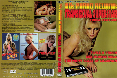 Transexual Superstar Triple Feature - Sex Change Girls
