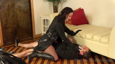 Jennifer White Nylon Burglar