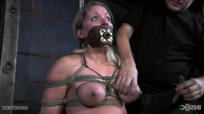 Bondage, domination and torture for very horny blonde part 2 HD 1080p