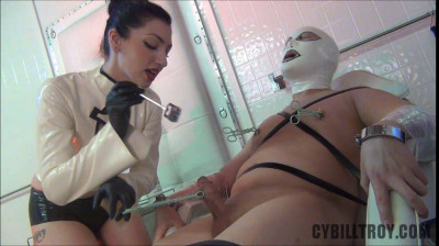 Cybill Troy - Permanent Chastity Staple Torture