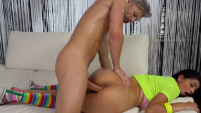 ava busty Candy Dance Girl in yellow fucked  (720p