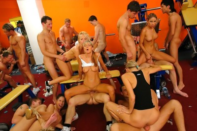Bisexual Gym Orgy Has Exhausted This Crew (2012)