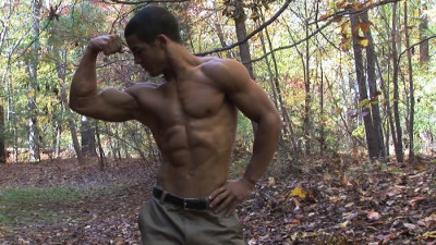 Pumpingmuscle - Bodybuilder Andre B Photo Shoot part 2