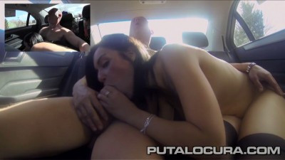 Fucked in a taxi