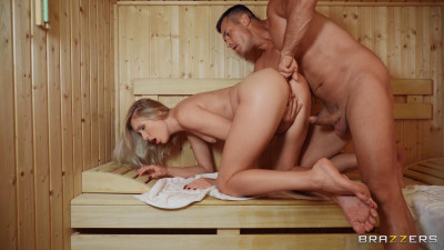 Angelika Grays - Sauna Soak FullHD 1080p