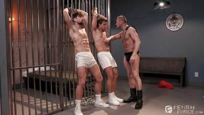 Submission Prison, Scene #01 (Nate Grimes, Drew Dixon, Myles Landon)