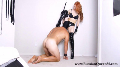 Latex Ass And Pussy Worship By