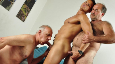 Older4me - Hunk vs Daddies - Gerado, Hassan and Hackman