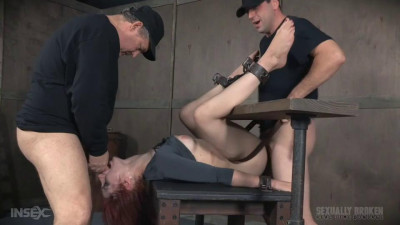 Description Violet Monroe BaRS Part 3: Double stuffed, bound and roughly fucked
