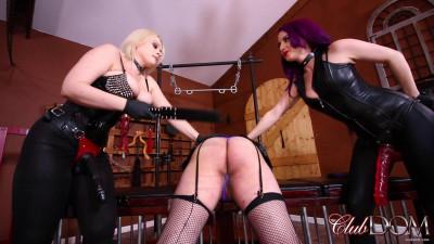 Beat the Sissy - Goddess Valora and Nadia White - Full HD 1080p