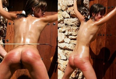 ExtremeWhipping - Oiled And Bound