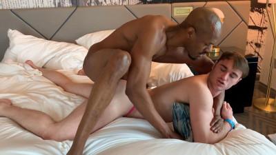 Rhyheim Shabazz, Michael Boston – Hot interracial creampie (2020)