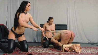 Cruel Punishemnts - Mistress Anette & Lady Kittina - Kinky Girls Play (Parts 1-3)