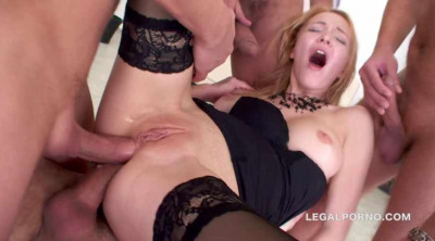 Extreme manhandle orgy for Belle Claire