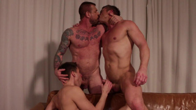 Rocco Steele And Tomas Brand Take Turns Breeding Dmitry Osten HD