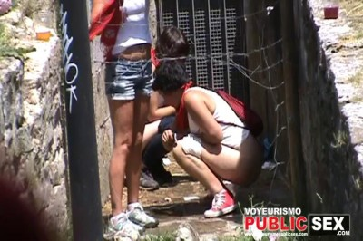 The Galician Girls Pissing 11