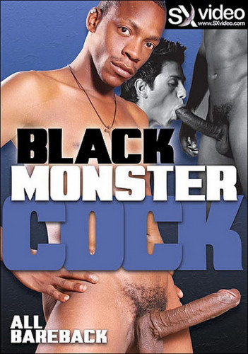 Description Black Monster Cock