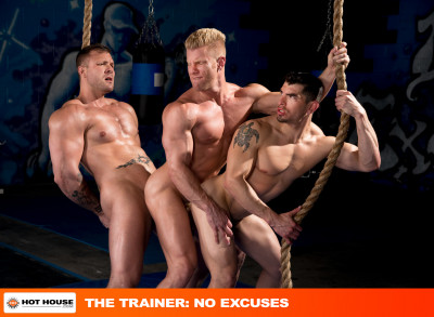 Hot House — The Trainer: No Excuses — Johnny V, Austin Wolf, Jeremy Spreadmus