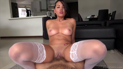 Slutty Latina Schoolgirl X-Lady Ass Fucked