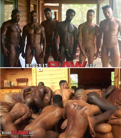 Description BreedItRaw - 50 Shades of Black - Parts 1-2