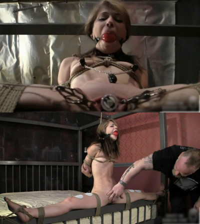 Bondage, domination, strappado and torture for young bitch (part3)