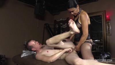 Asian Dominatrix Pegs Her Submissive Slave - Dana Vespoli