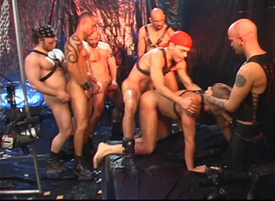 Description Leather Punks Orgy