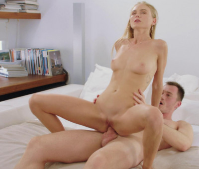Skinny Model Assfucked By Hard Cock