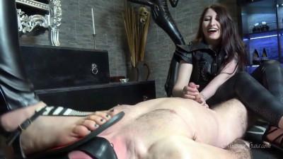 Mistress Gaia - Milking His Cock Raw