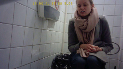 Hidden Camera In The Student Toilet 6
