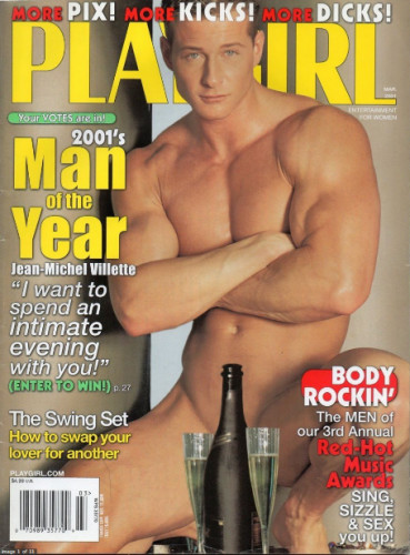 Playgirl Man of the Year 2001 Jean-Michel Villette