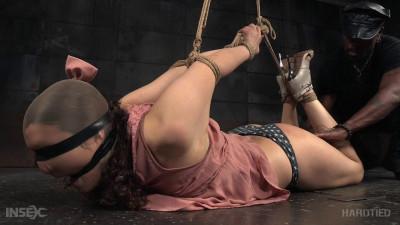 Description Endza Adair shows her flexibility, beauty, and grace in bondage