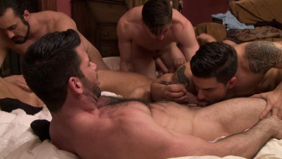 Description Brandon Wilde's First Gang Bang