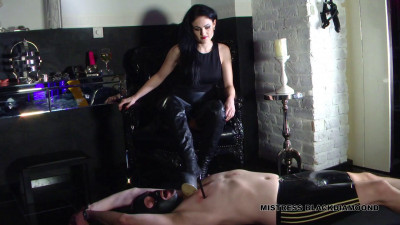 Mistress Blackdiamoond - Trampling Torment for the Slave