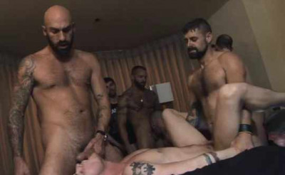 Viral Gangbang With Loads