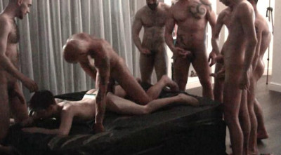 Rough London Gangbang