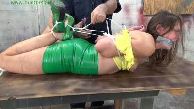 Rachel Adams - Bound In Brutal Zipties
