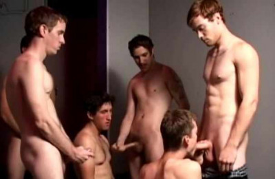 Cum Thirsty Cock Suckers In Orgy
